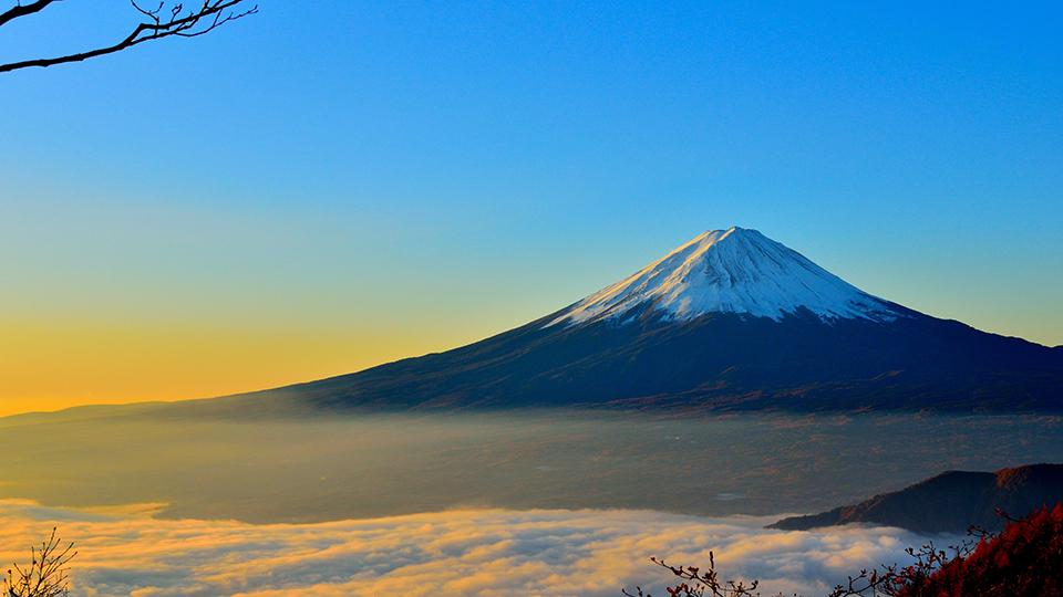 富士山の神社:山梨県側